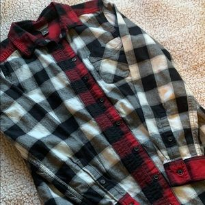 Eddie Bauer women's button up flannel